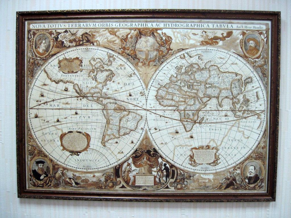 Картинки по запросу Старинные карты в рамах